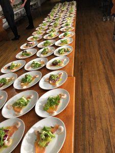 food prepared at wedding venue westbury