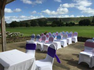 country park wedding ceremony wiltshire