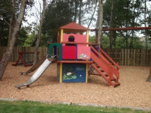 children's slide country park Wiltshire