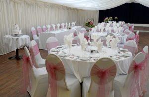 wedding venue tables Westbury