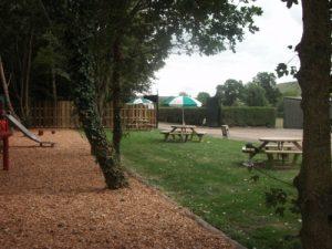 outdoor benches party venue Westbury