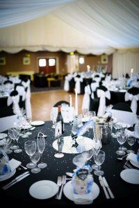reception tables wedding venue westbury