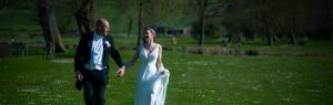 couple walking country park weddings Wiltshire